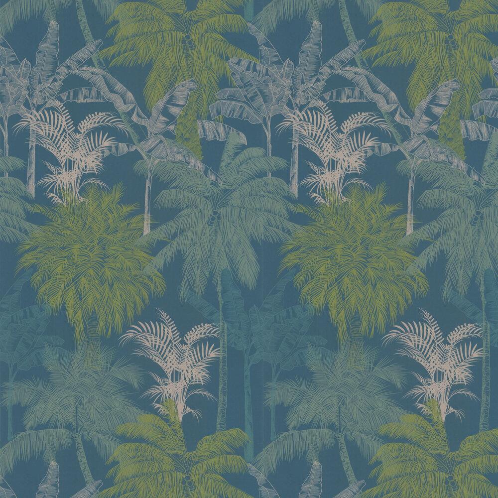 St Vincent Wallpaper - Lagoon - by Prestigious