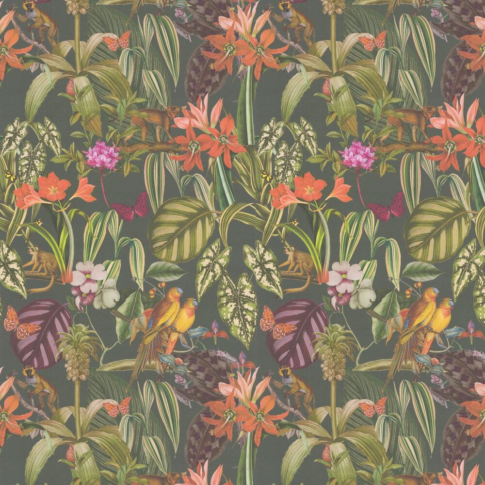 Caicos Wallpaper - Jade - by Prestigious
