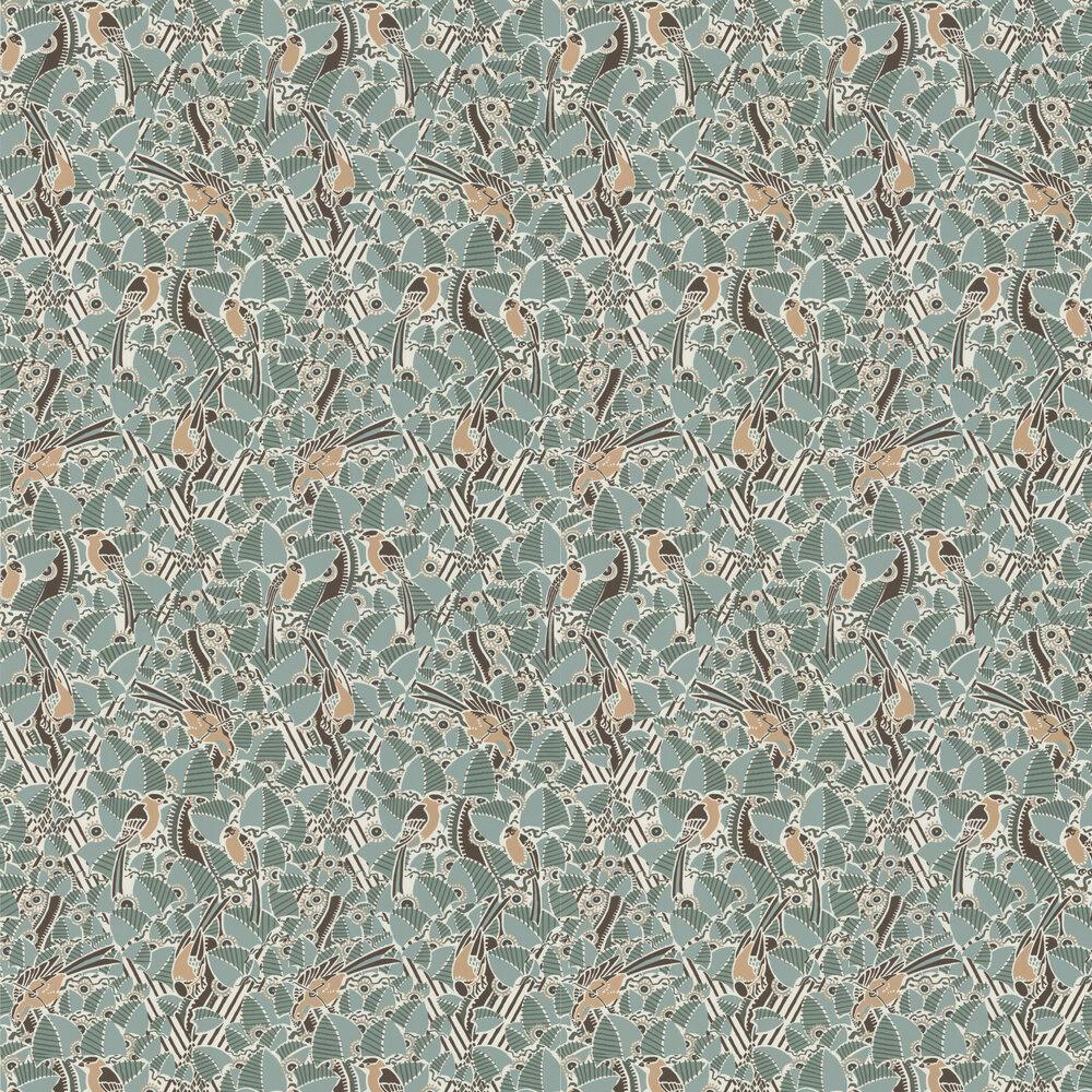 Majolica Wallpaper - Celadon - by Casamance