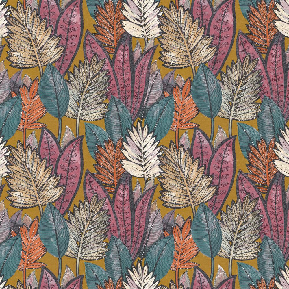 Sabal Wallpaper - Safran - by Casamance