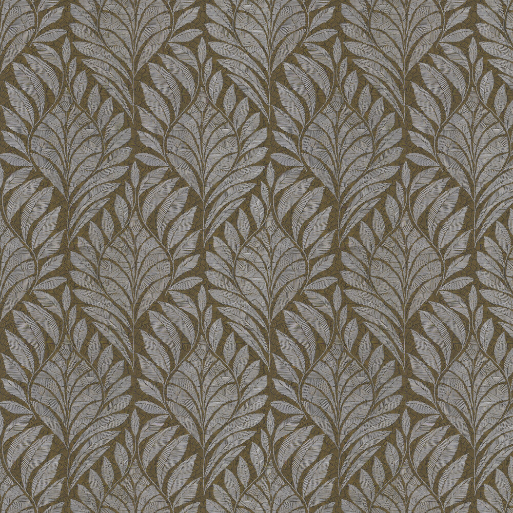 Gustav Wallpaper - Carbone - by Casamance