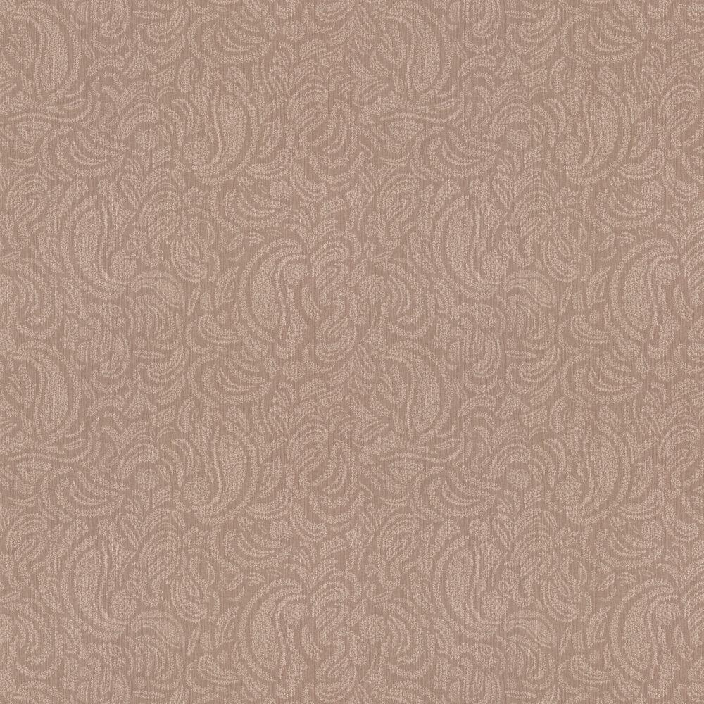 Jaipur Wallpaper - Terracotta - by Casamance