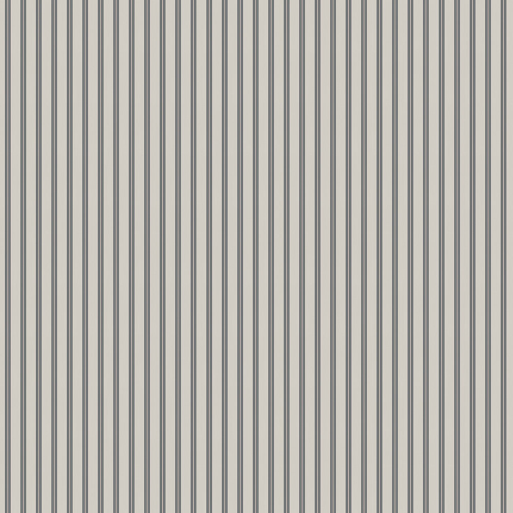 Suitcase Stripe Wallpaper - Grey - by Ted Baker