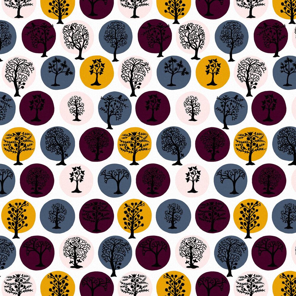 Party Land Wallpaper - Jewel (Multi) - by Sacha Walckhoff x Graham & Brown