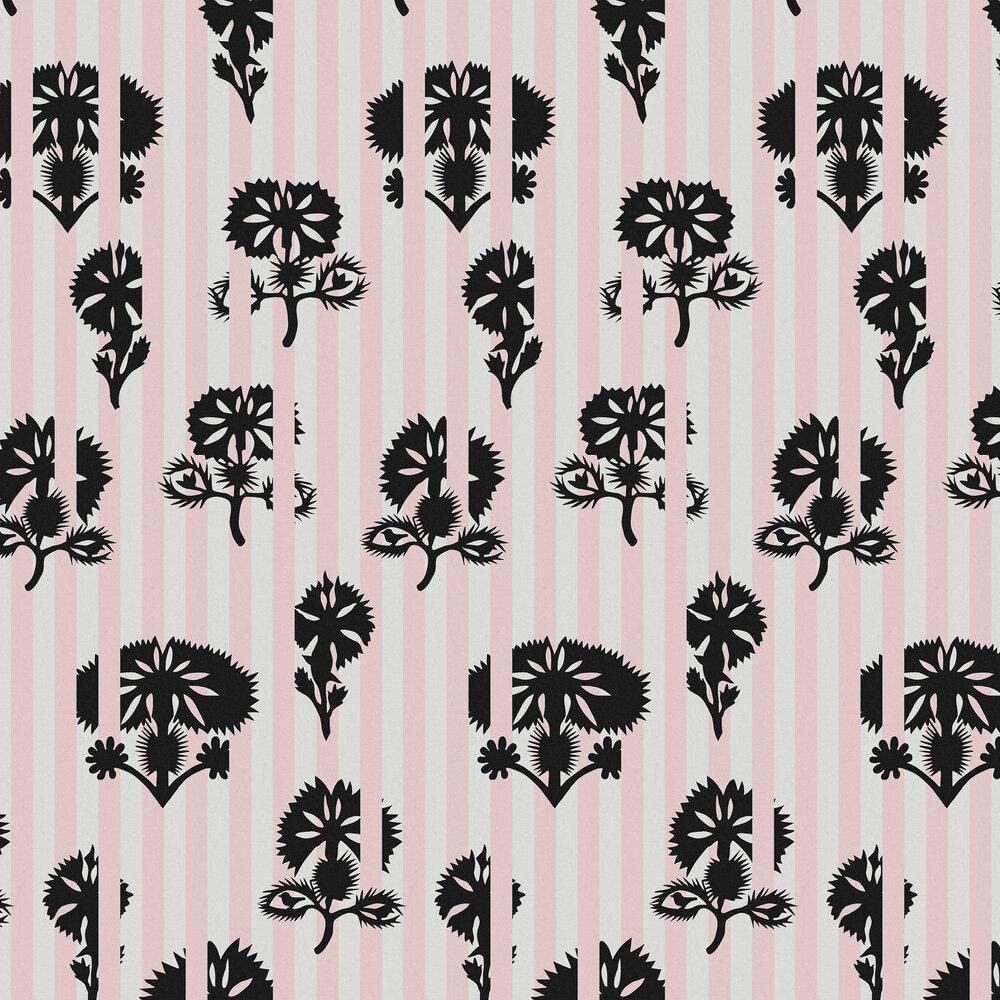 Hide and Seek Wallpaper - Rose - by Sacha Walckhoff x Graham & Brown