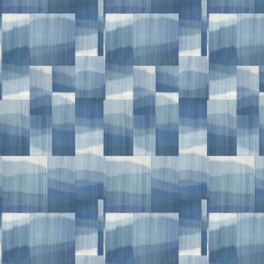 Kirigami Wallpaper - Indigo - by Osborne & Little