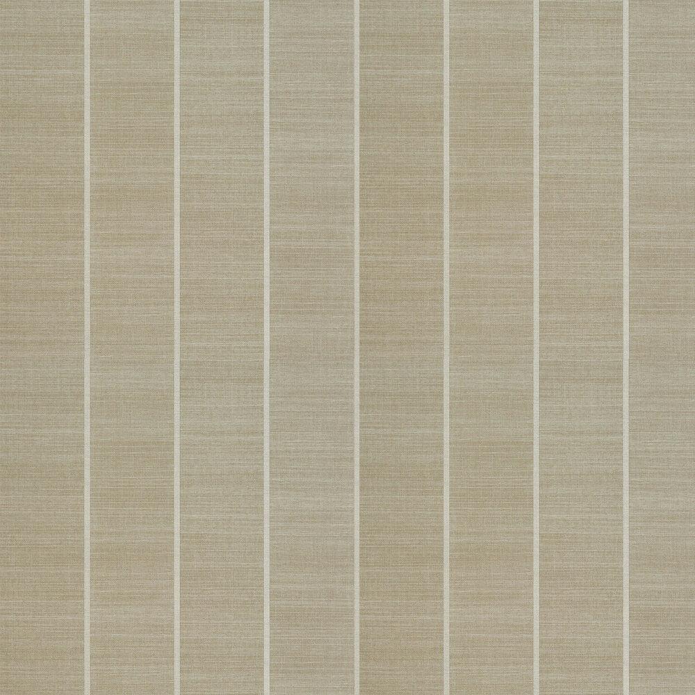 Shoji Vinyl Wallpaper - Straw - by Osborne & Little