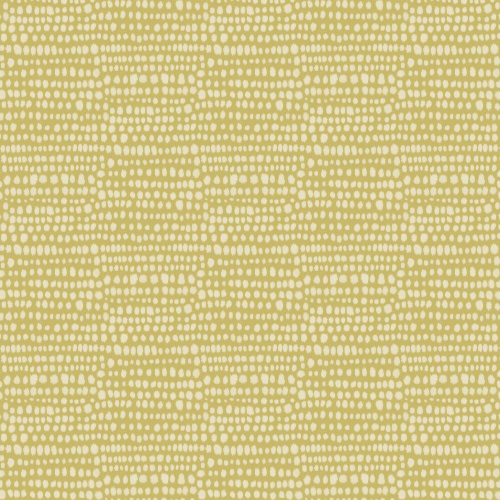 Tribal Wallpaper - Ochre - by Arthouse