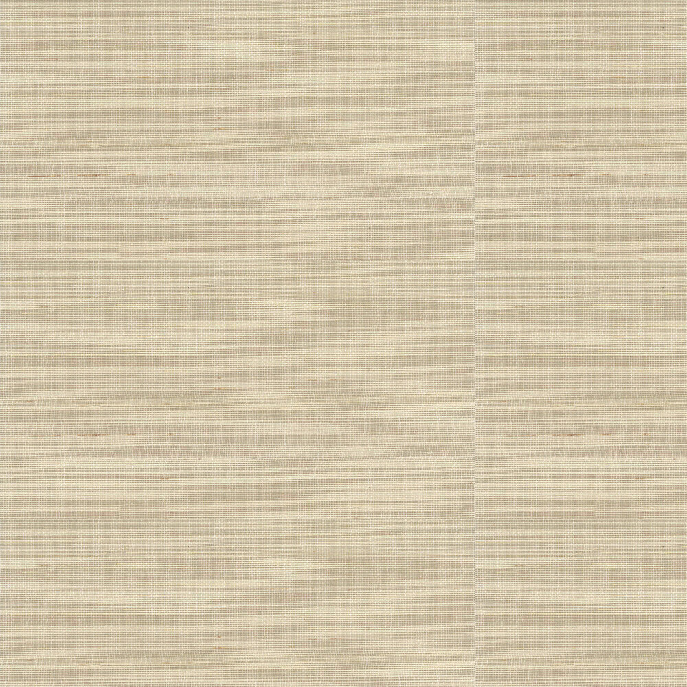 Kanoko Grasscloth Wallpaper - Ecru - by Osborne & Little