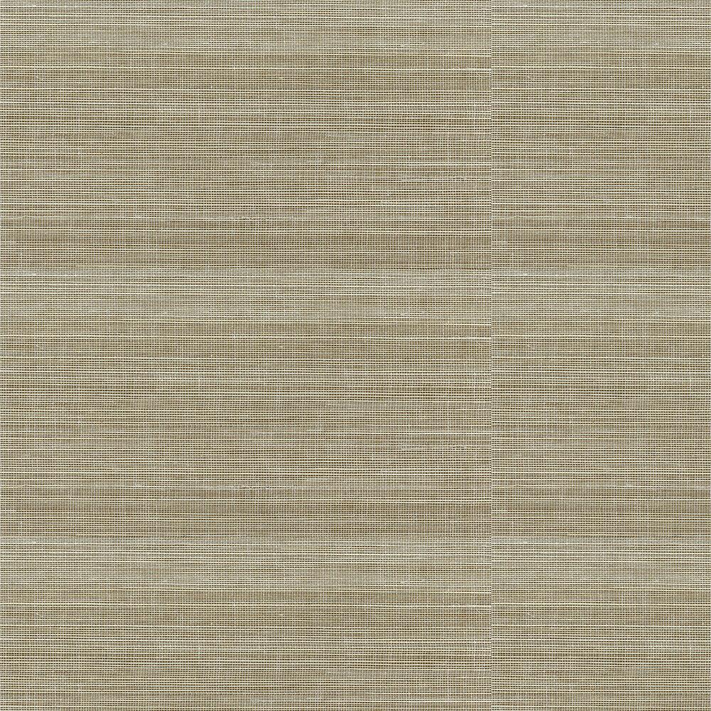 Kanoko Grasscloth Wallpaper - Straw - by Osborne & Little