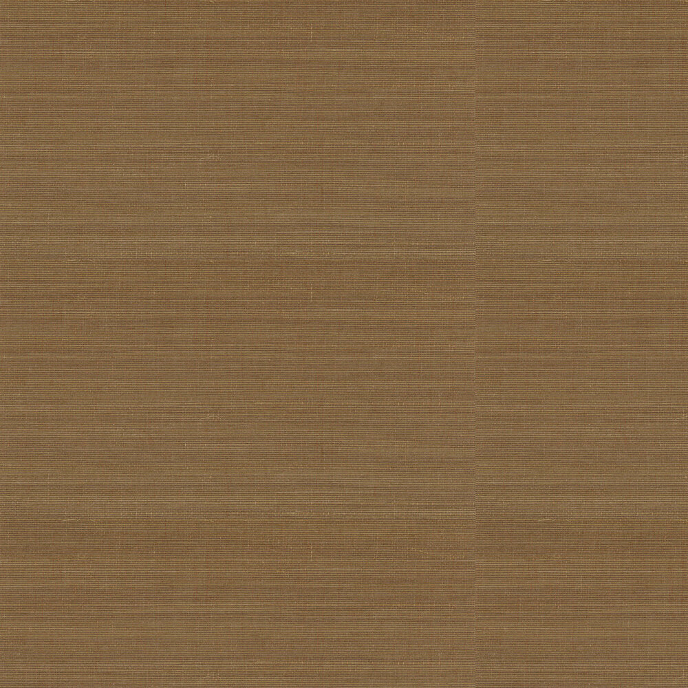 Kanoko Grasscloth Wallpaper - Camel - by Osborne & Little