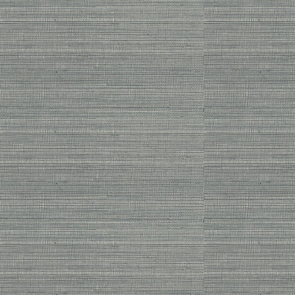 Kanoko Grasscloth Wallpaper - Silver - by Osborne & Little