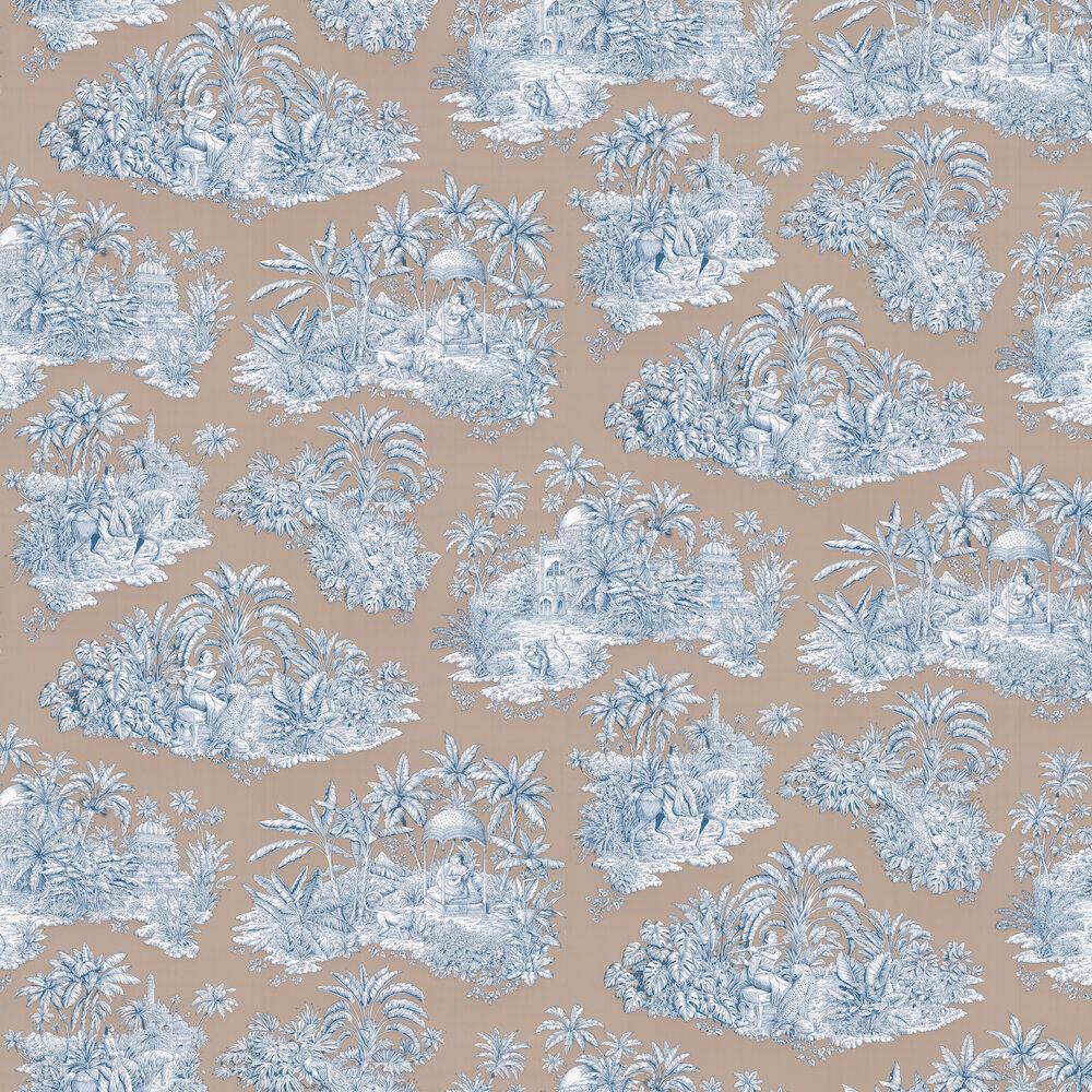 Pondichery Wallpaper - Taupe - by Manuel Canovas