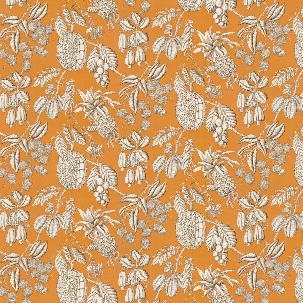 Balangan Wallpaper - Mandarine - by Manuel Canovas