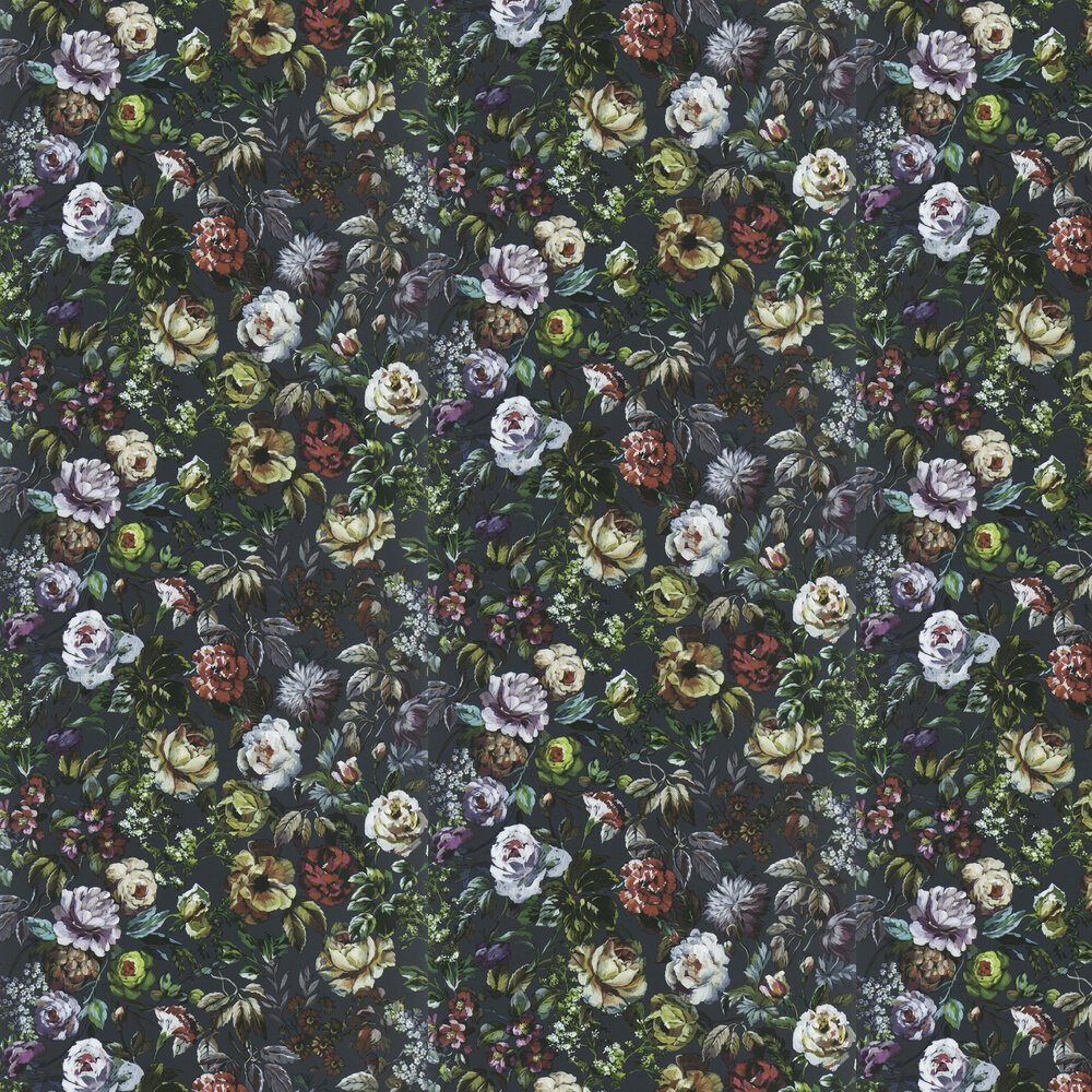 Mansur  Wallpaper - Granite - by Designers Guild