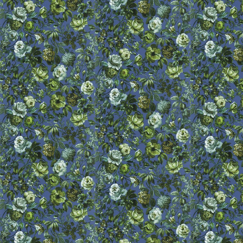 Mansur  Wallpaper - Cobalt - by Designers Guild