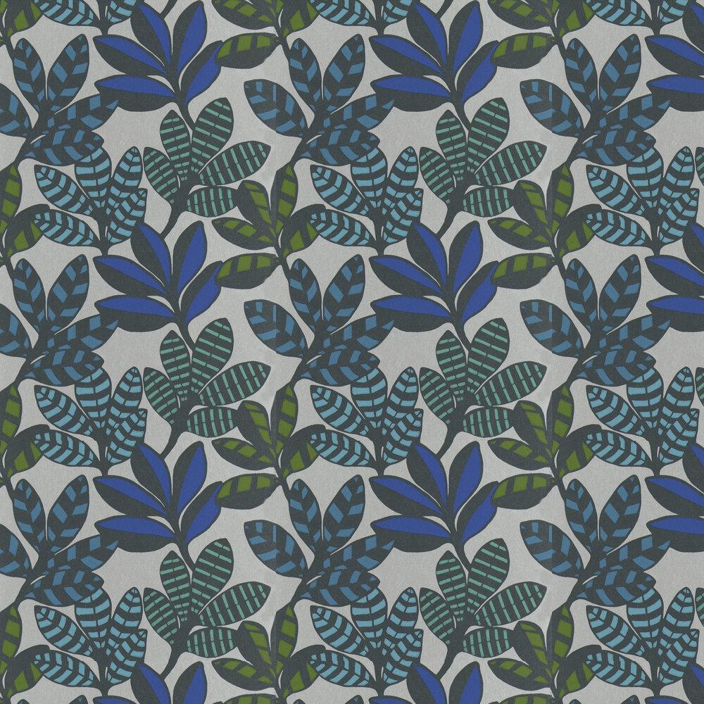 Tanjore  Wallpaper - Cobalt - by Designers Guild