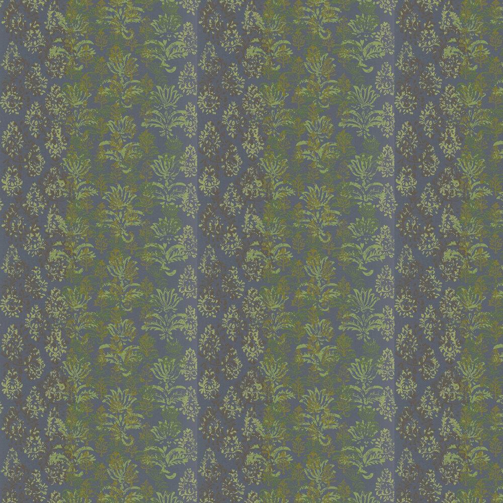 Kasavu  Wallpaper - Graphite - by Designers Guild