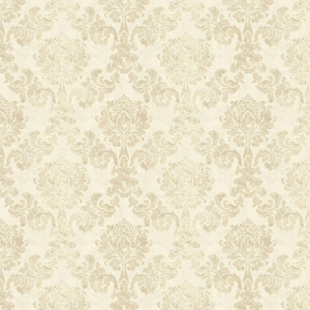 Lindfield Wallpaper - Dark Cream - by Elizabeth Ockford