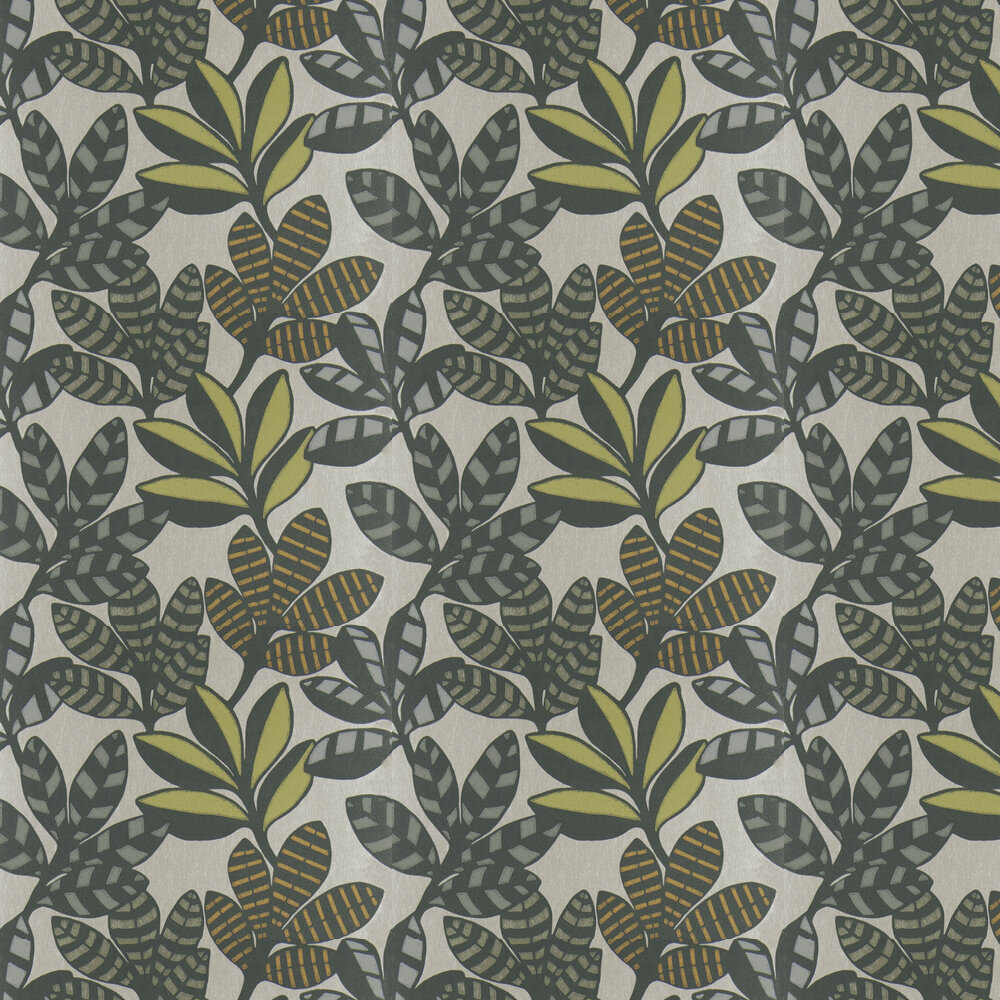 Tanjore  Wallpaper - Moss - by Designers Guild