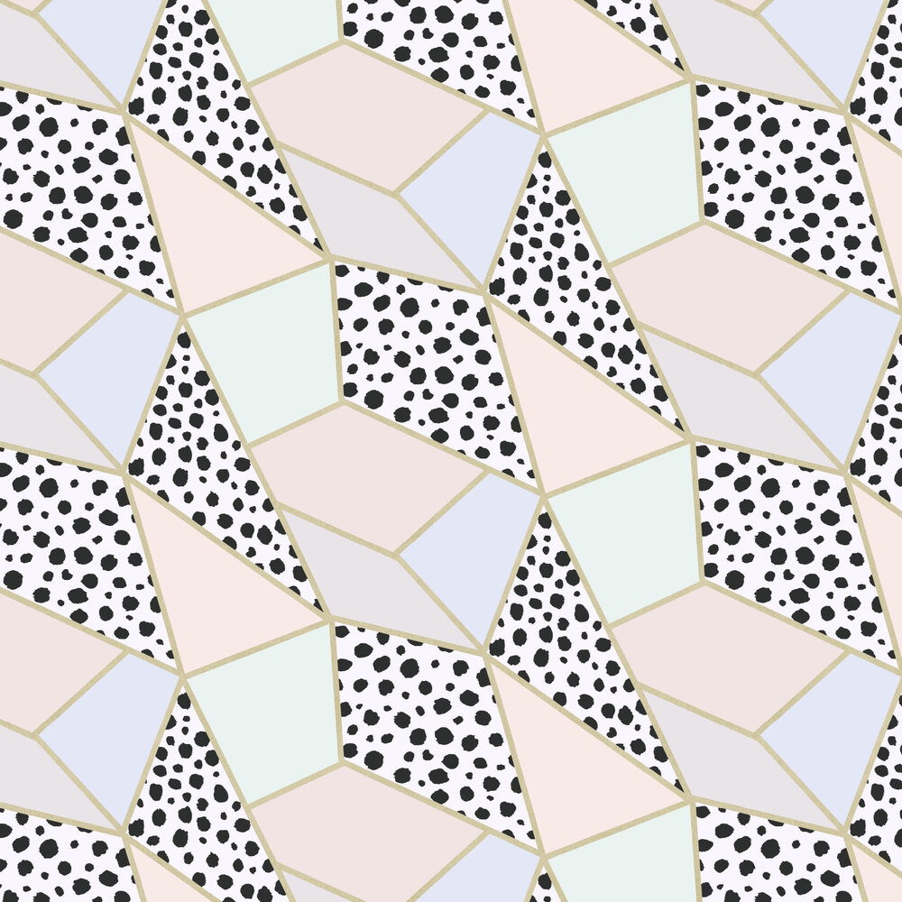 Dalmatian Fragment Wallpaper - Multi - by Arthouse