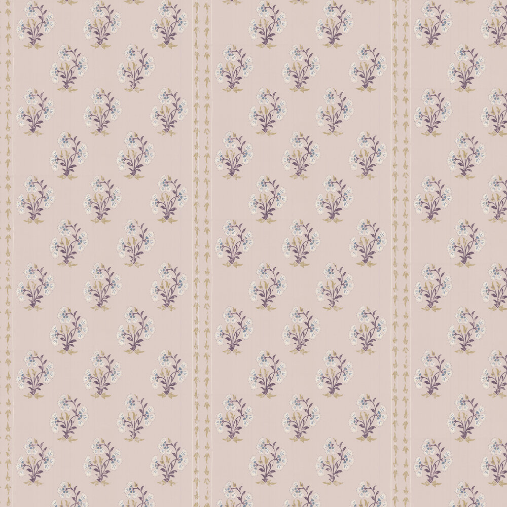 Maharani Block Print Wallpaper - Rajasthani Plaster - by Barneby Gates