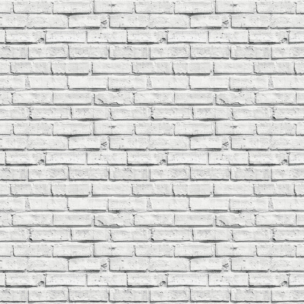 White Brick Wallpaper - by Arthouse