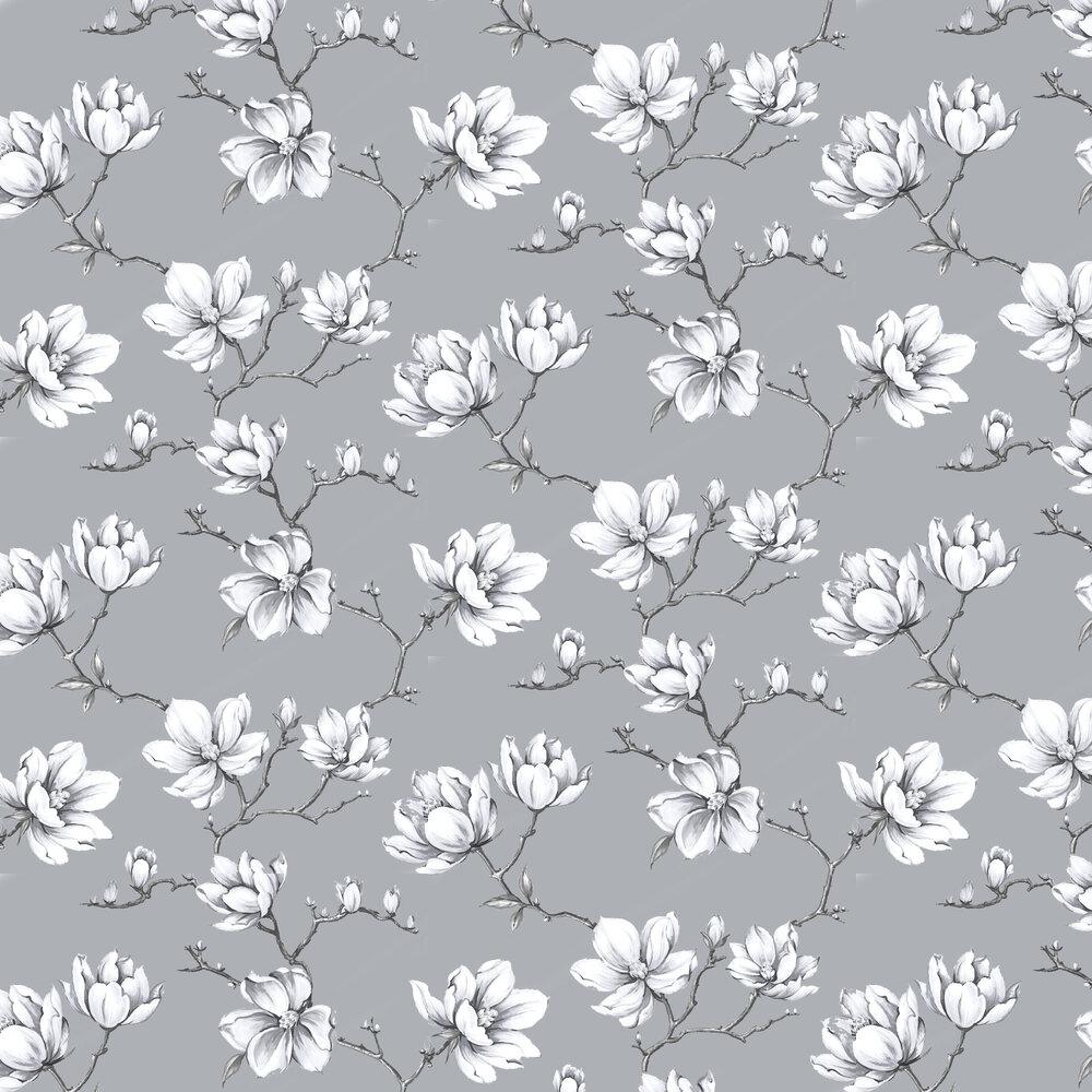 Pierre Wallpaper - Platinum - by Graham & Brown