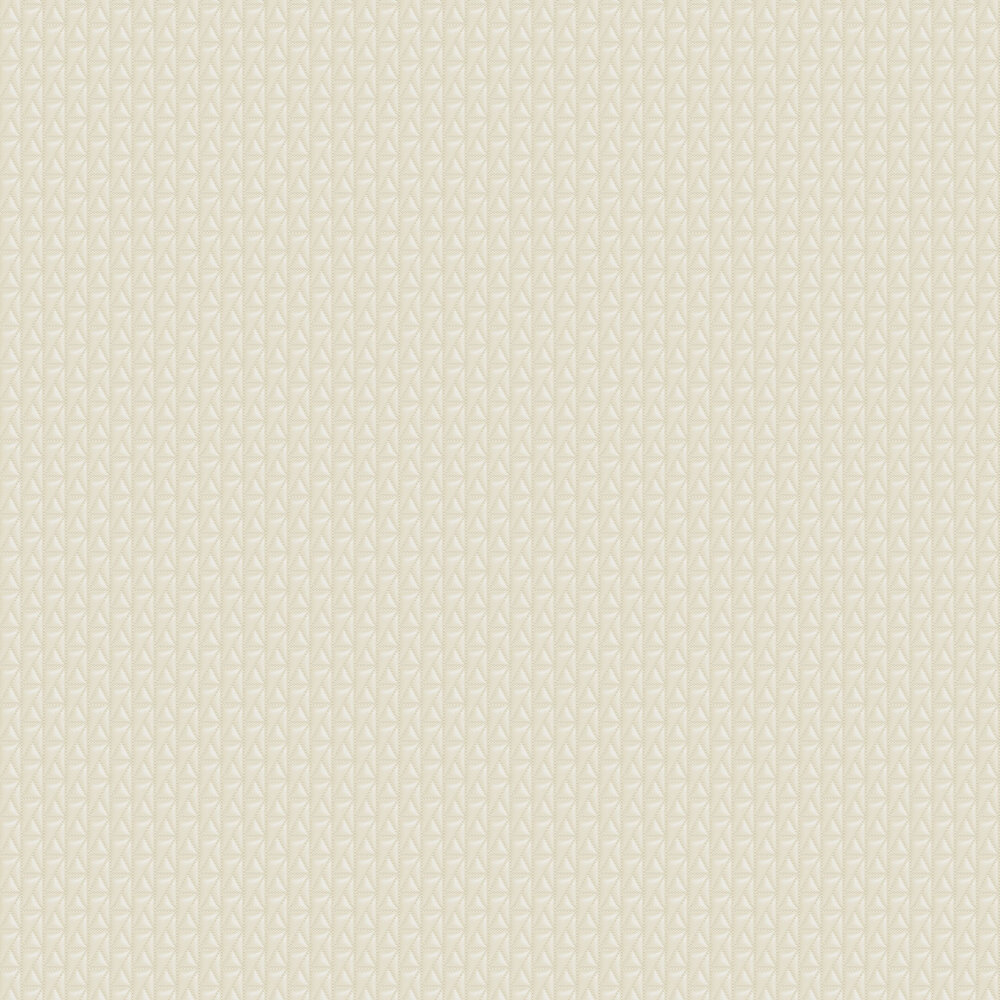 Kuilted Wallpaper - Cream - by Karl Lagerfeld