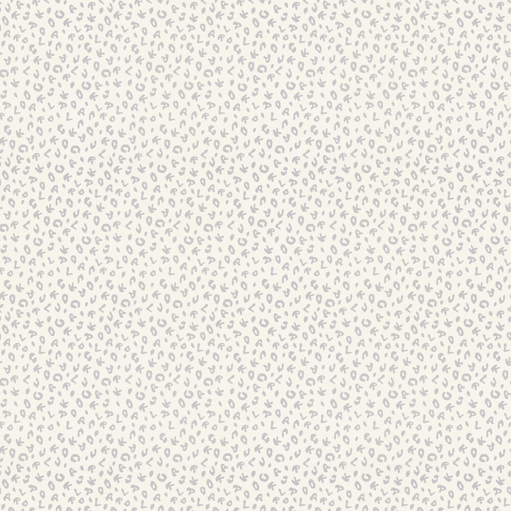 Leopard Wallpaper - Cream - by Karl Lagerfeld