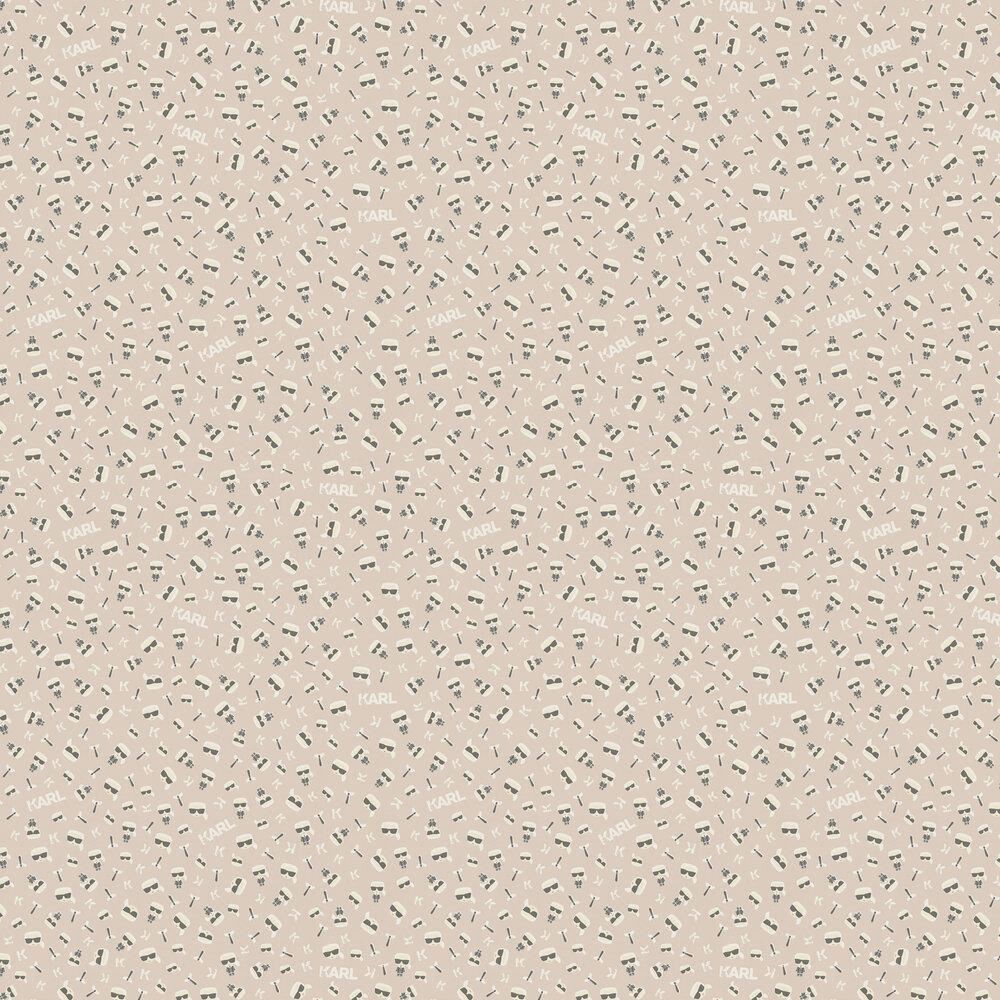 Ikonik Wallpaper - Blush - by Karl Lagerfeld