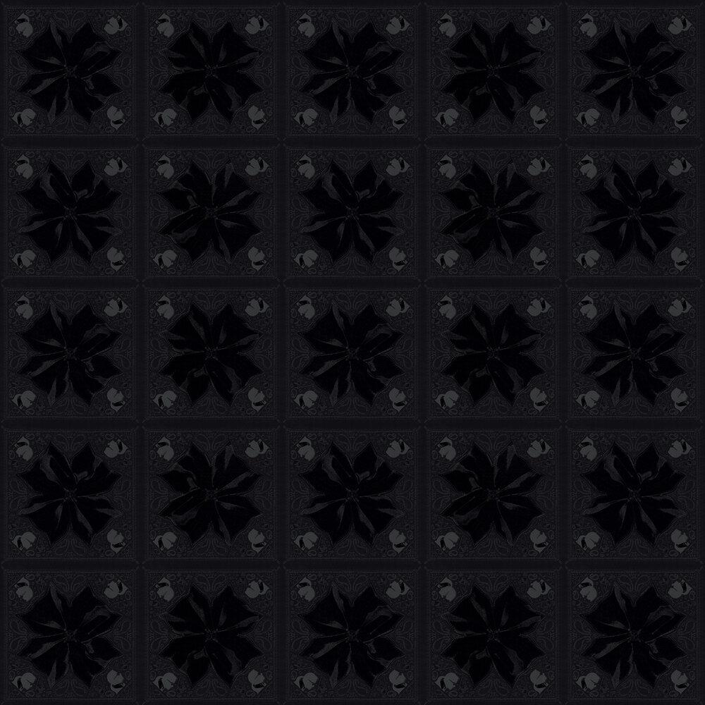 Kaleidoskop Wallpaper - Black - by Karl Lagerfeld