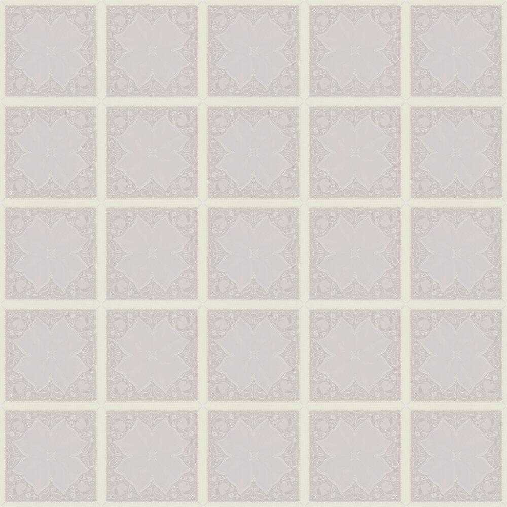 Kaleidoskop Wallpaper - Taupe - by Karl Lagerfeld