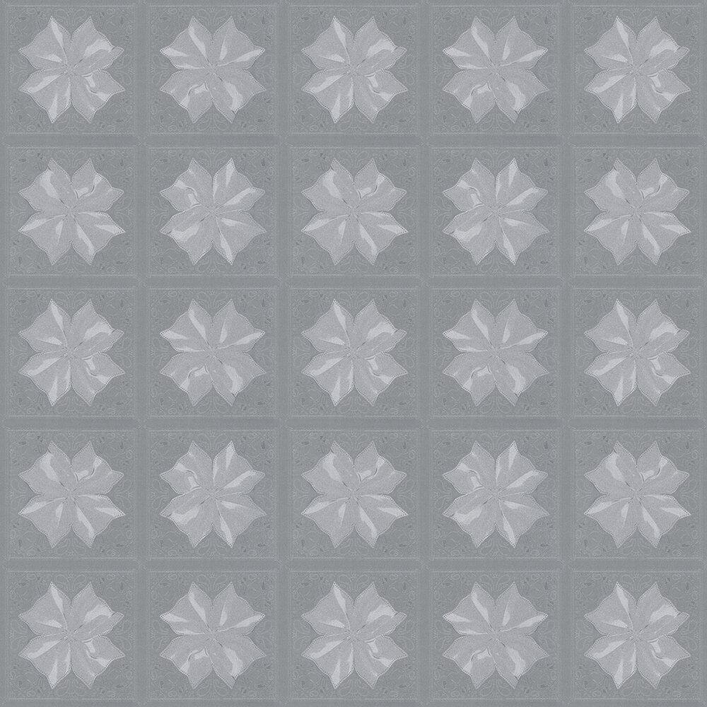 Kaleidoskop Wallpaper - Grey - by Karl Lagerfeld