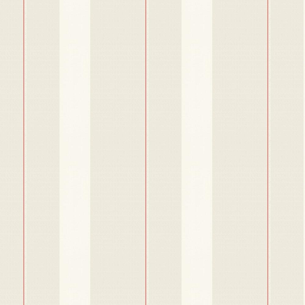 Ribbon Wallpaper - Cream - by Karl Lagerfeld
