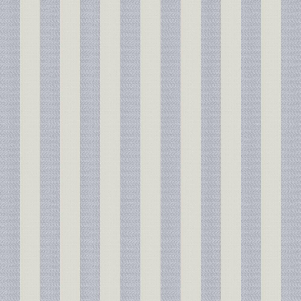 Stripes Wallpaper - Blue - by Karl Lagerfeld