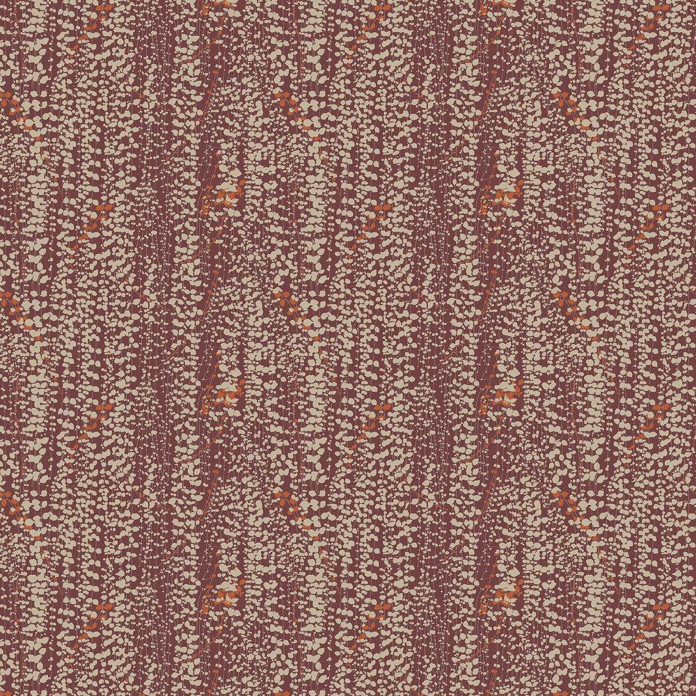 Ranke Wallpaper - Crimson - by Boråstapeter