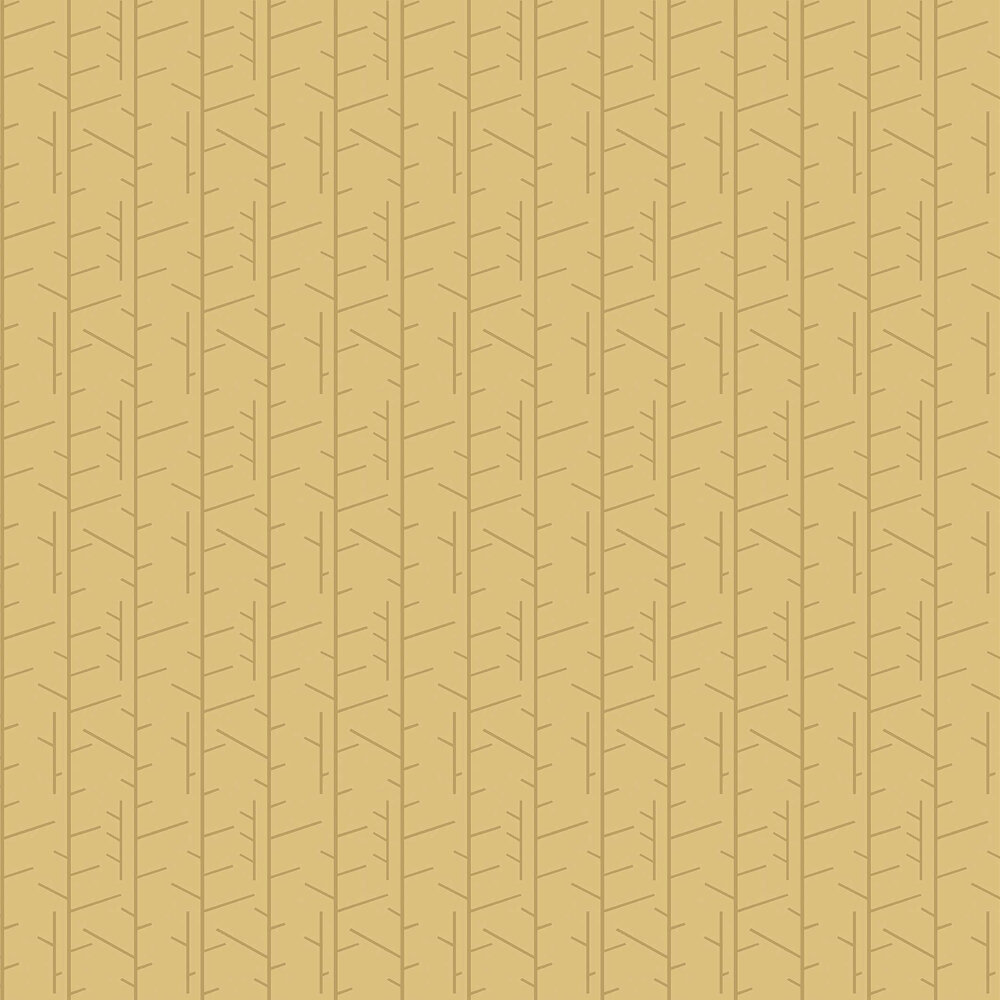 Tassel Wallpaper - Old Gold - by Boråstapeter
