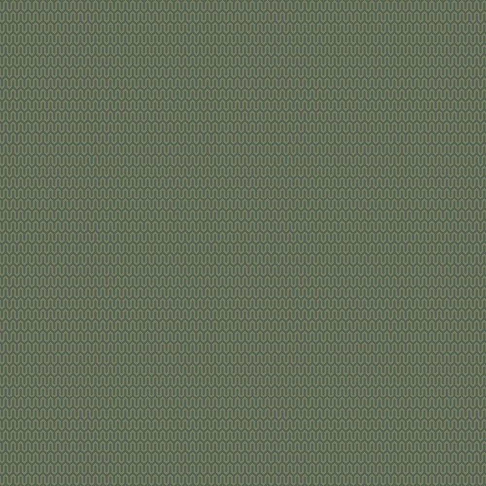 Ypsilon Wallpaper - Dark Green - by Boråstapeter