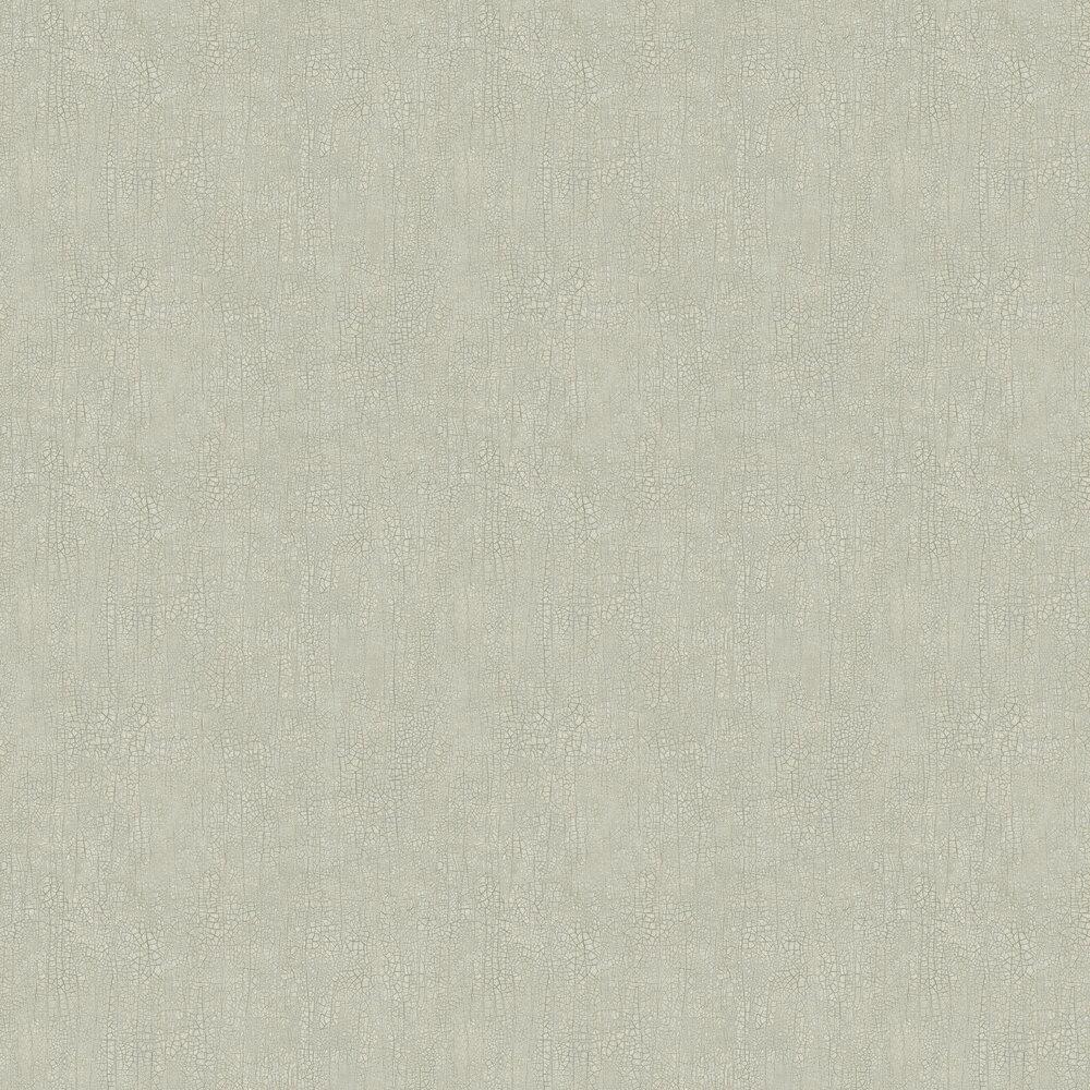 Raku Wallpaper - Grey-Green  - by Boråstapeter
