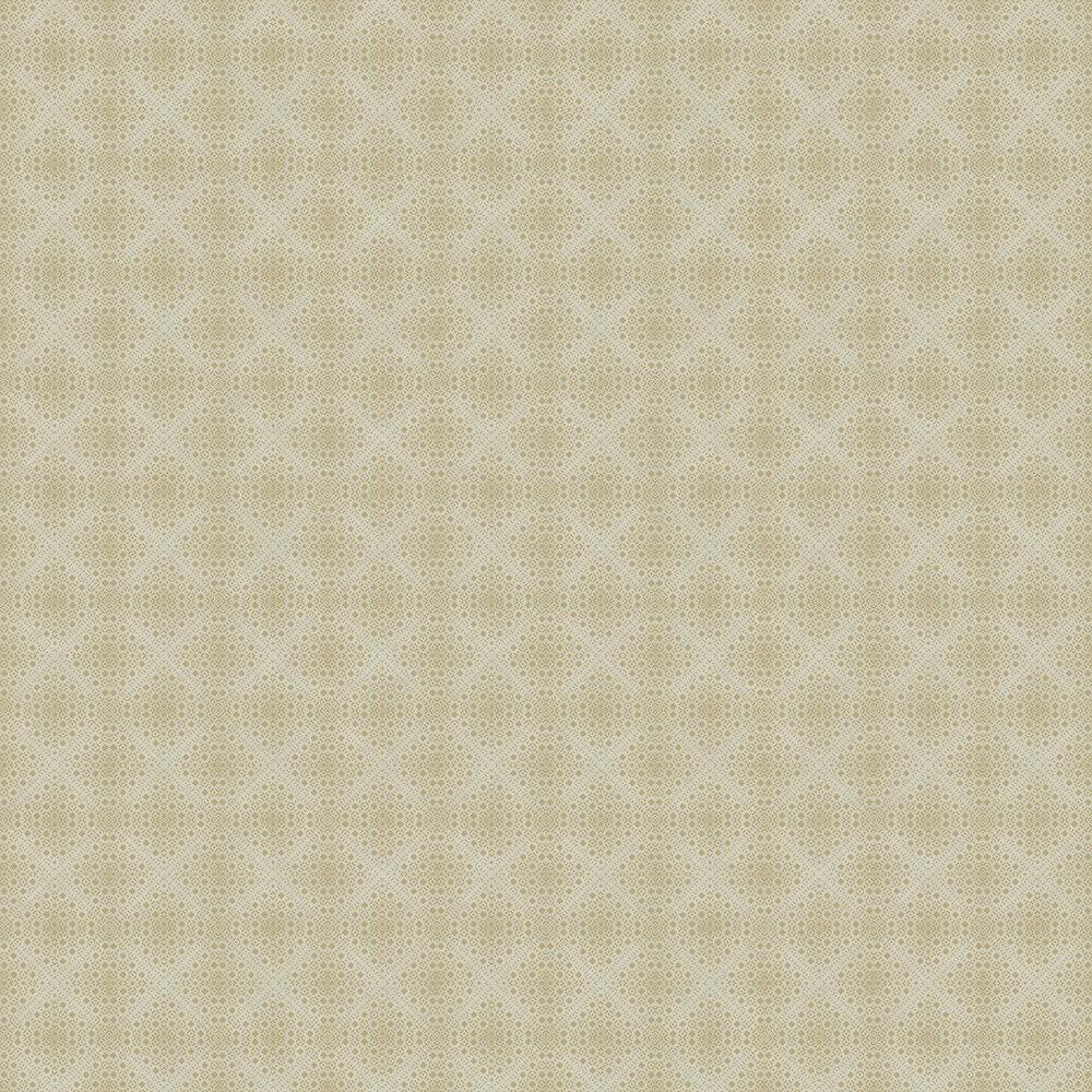 Kimono Wallpaper - Beige and Gold - by Boråstapeter