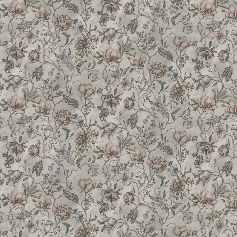 Linda Wallpaper - Clay - by Sandberg