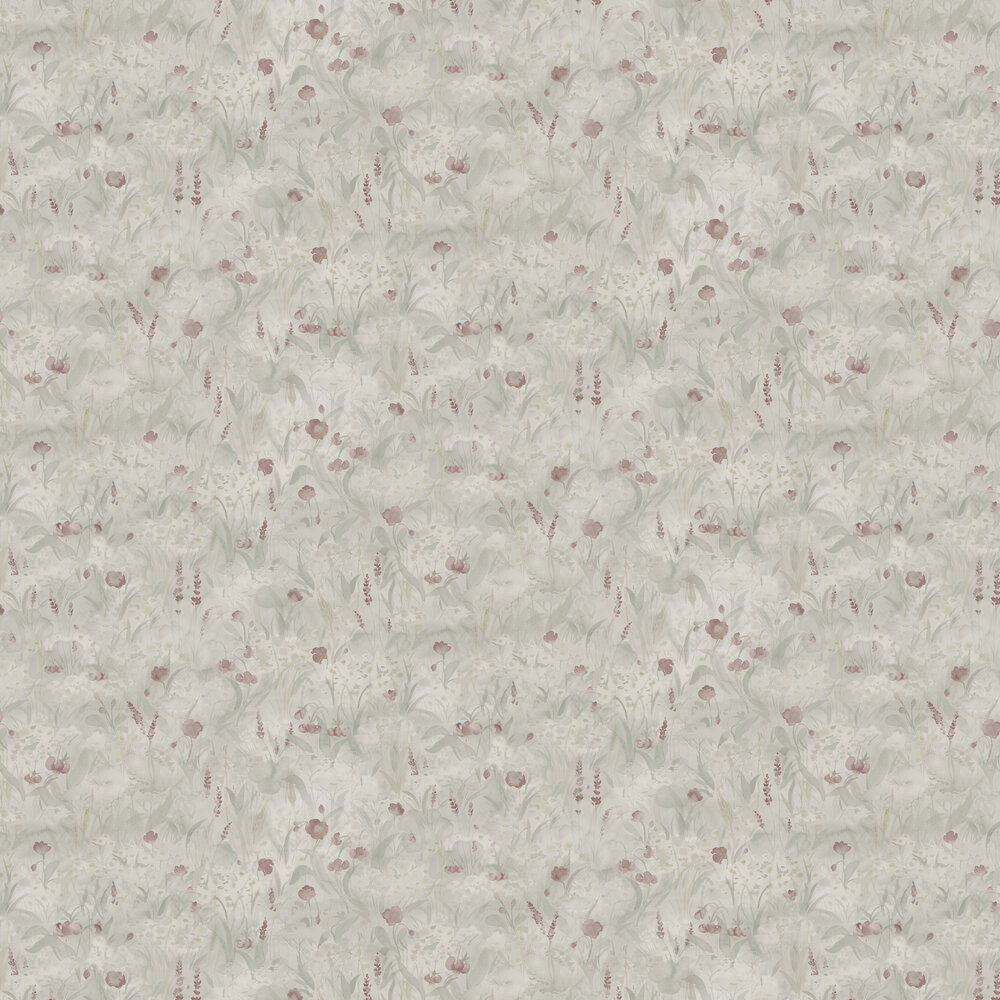 Tove Wallpaper - Sage Green - by Sandberg