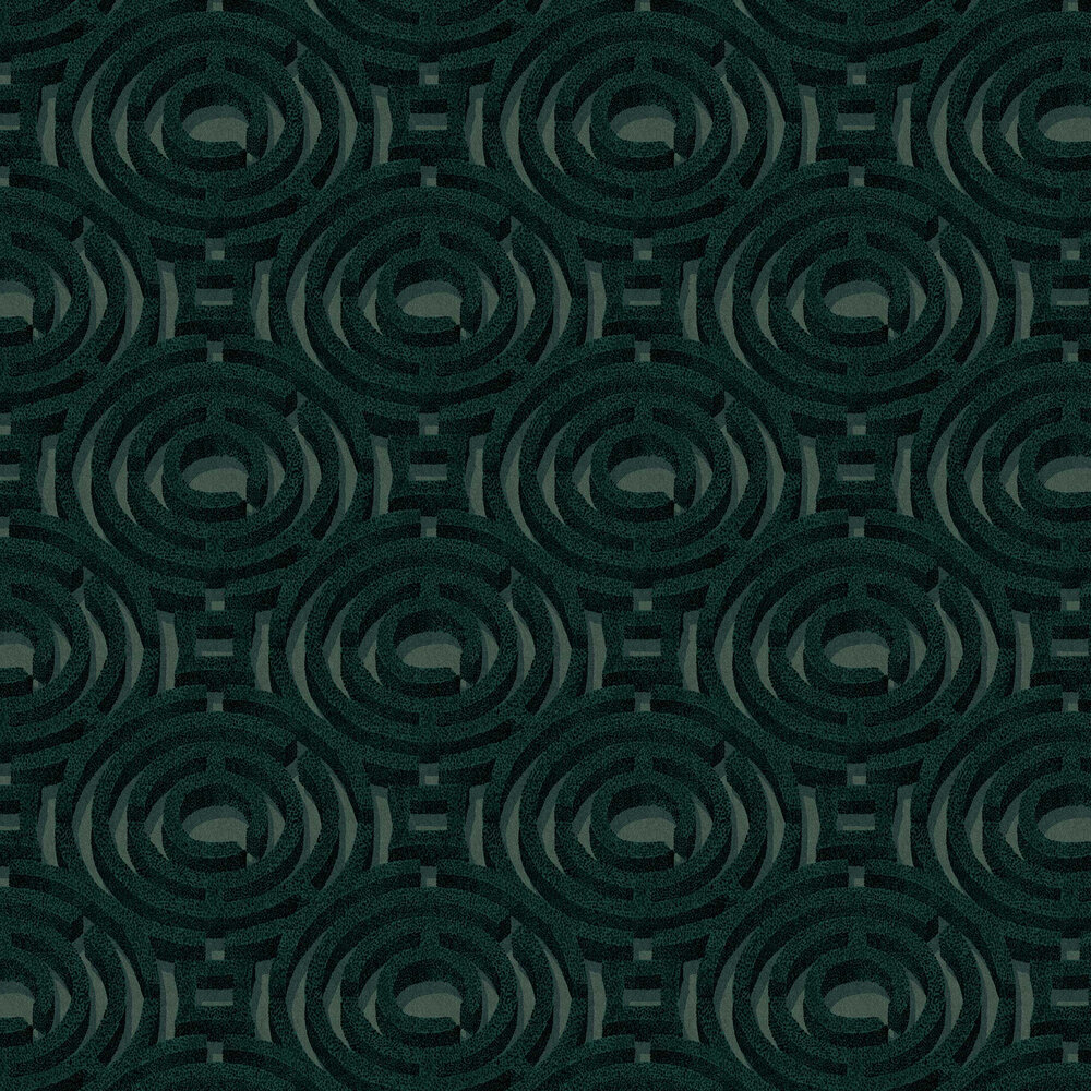 Alcazar Wallpaper - Forest - by Graham & Brown
