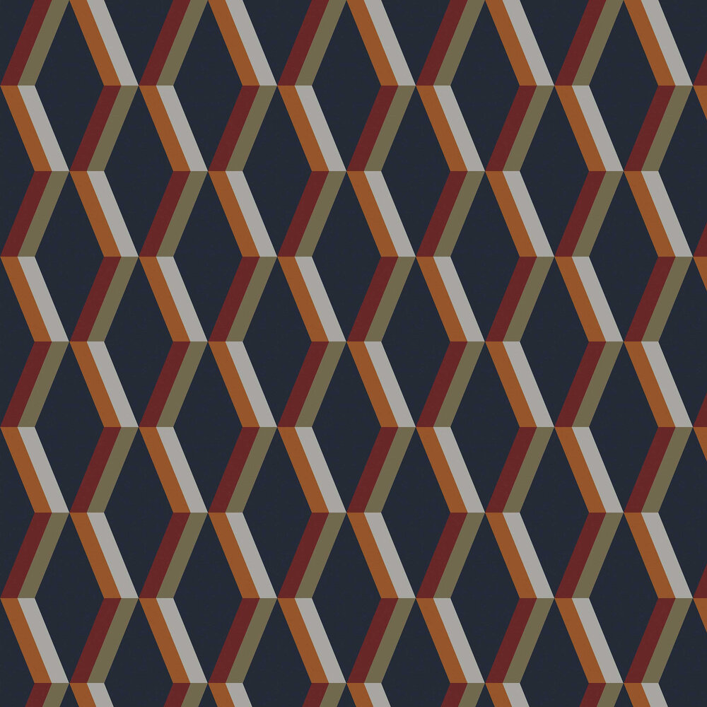 Cirque Wallpaper - Nuit - by Graham & Brown