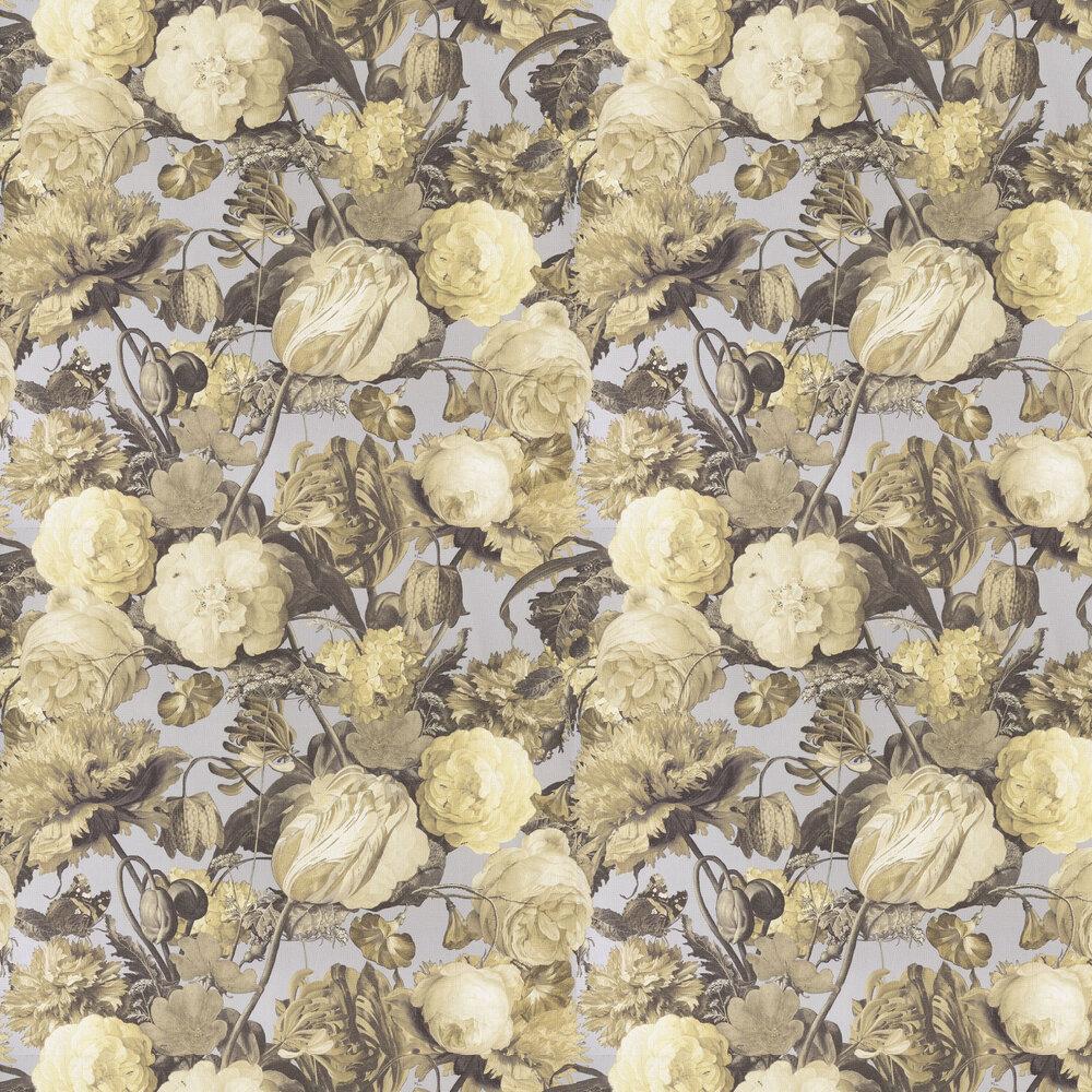 Flowers Wallpaper - Yellow - by Eijffinger