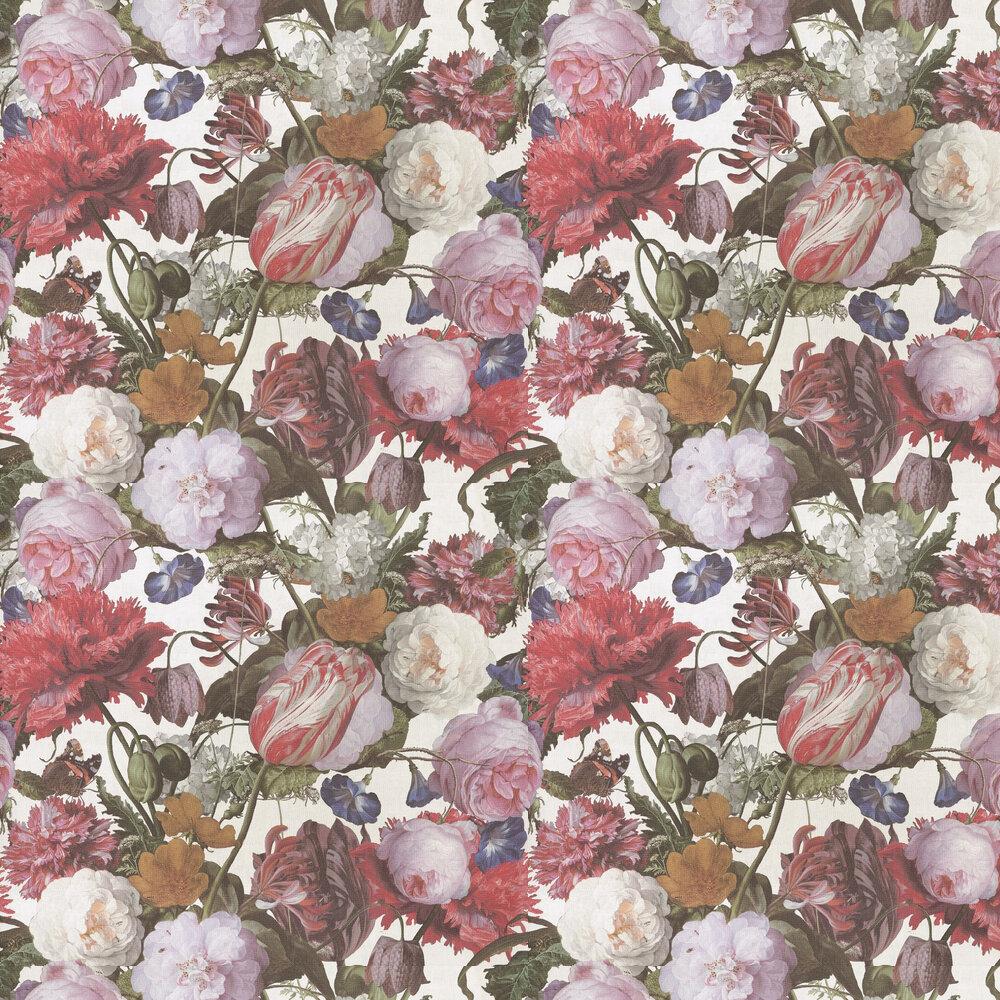 Flowers Wallpaper - Multi / Cream - by Eijffinger