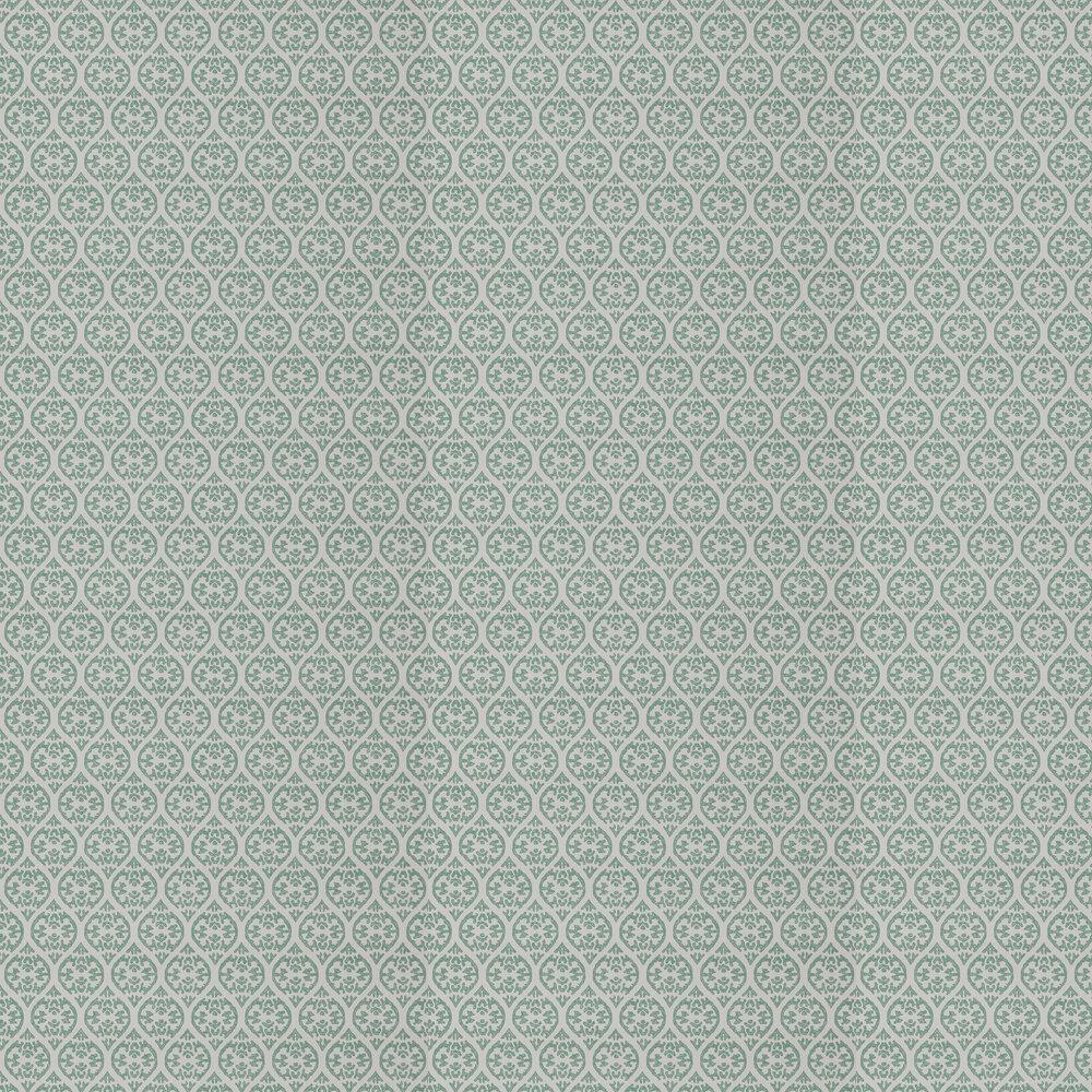 Elphin Wallpaper - Green - by Jane Churchill