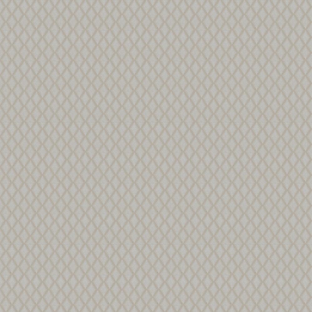 Lea Wallpaper - Beige - by Jane Churchill