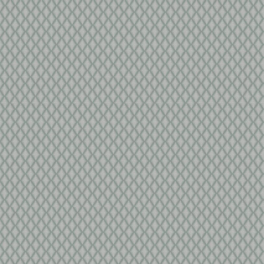 Lea Wallpaper - Aqua - by Jane Churchill